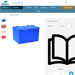Ice Box - 100 Litre - Nilkamal Material Handling