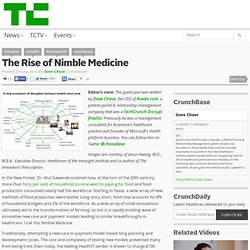 The Rise of Nimble Medicine