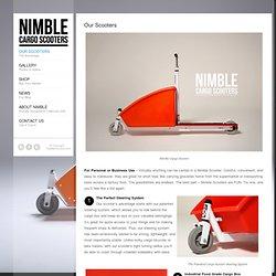 Nimble Cargo Scooters