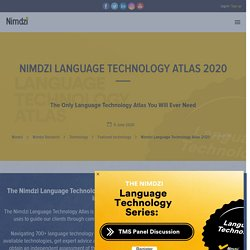 Language Technology Atlas 2020