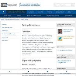 NIMH » Eating Disorders
