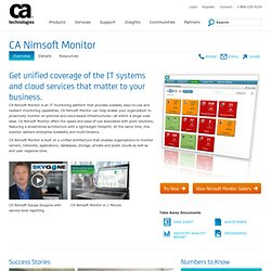 Website monitoring by WatchMouse