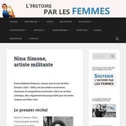 Nina Simone, artiste militante