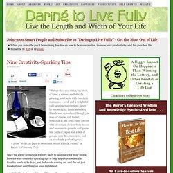 Nine Creativity-Sparking Tips