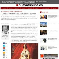 La reina ninfómana, Isabel II de España - Cultura