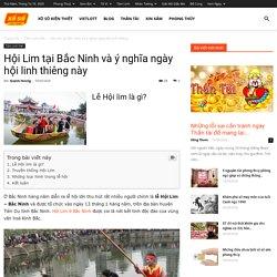 Hội Lim tại Bắc Ninh và ý nghĩa ngày hội linh thiêng này