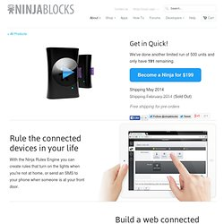 Ninja Blocks Kit