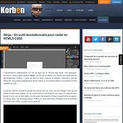 Ninja – Un outil révolutionnaire pour coder en HTML5 CSS3
