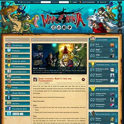 War Of Ninja - Your #1 Online Ninja Multiplayer Game