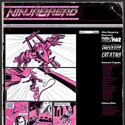 Ninjabread - Wargaming Comics and Scribblings
