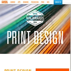 Ninjawards – Print Design Trends 2014