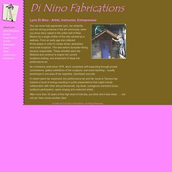 Di Nino Fabrications - Lynn Di Nino's Biography