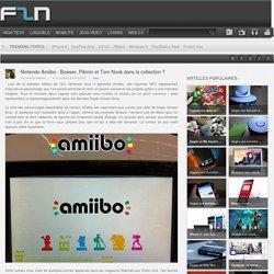Nintendo Amiibo : Bowser, Pikmin et Tom Nook pour bientôt ?