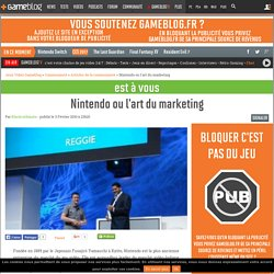 Nintendo ou l'art du marketing