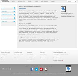 Nintendo Copyright Policy