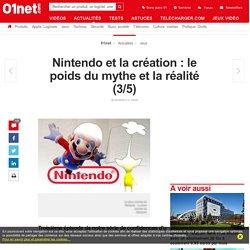 Nintendo et la création: le poids du mythe et la réalité (3/5)