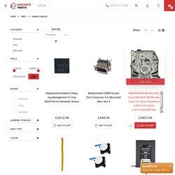 Buy Nintendo, Sony, Microsoft console parts canada - Esource Parts