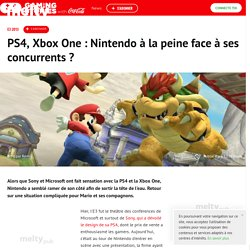 PS4, Xbox One : Nintendo à la peine face à ses concurrents ?