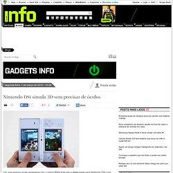 Nintendo DSi simula 3D sem precisar de óculos - Gadgets INFO