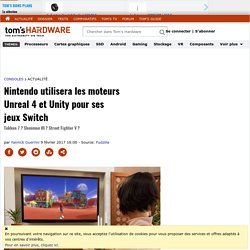 Nintendo-switch et unreal-unity