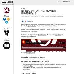 Nipédu 05 : Orthophonie et Numérique