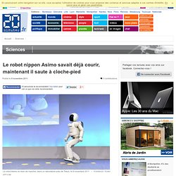 Le robot nippon Asimo savait déjà courir, maintenant il saute à cloche-pied