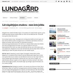 Låt niqabtjejen studera – men inte jobba – Lundagard.se