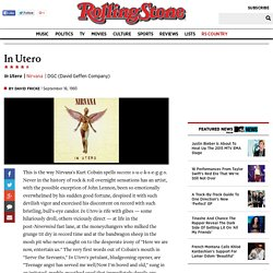 Nirvana In Utero Album Review