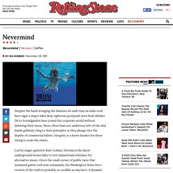 Nirvana Nevermind Album Review
