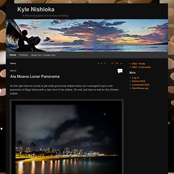 Kyle Nishioka | A little tech, photography and social media ramblings