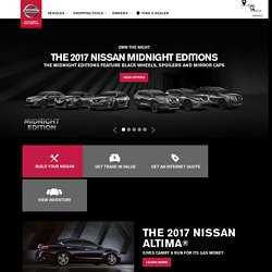 Nissan Cars, Hybrid, Trucks, Crossovers, SUVs | Year-End Sales Event