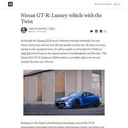 Nissan GT-R: Luxury vehicle with the Twist - Used Cars Near Me - Medium