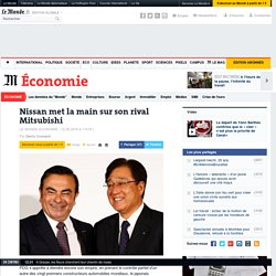 Nissan met la main sur son rival Mitsubishi