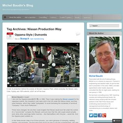 Nissan Production Way