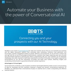 Automate your Business with the power of Conversational AI