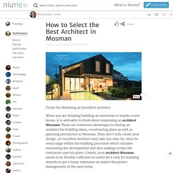 How to Select the Best Architect in Mosman