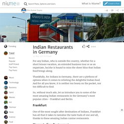 Indian Restaurants in Germany
