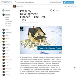 Property Development Finance - The Best Tips