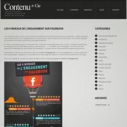 Les 9 niveaux de l'engagement sur Facebook
