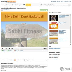 Nivia Delhi Dunk Basketball - Sabkifitness.Com