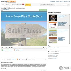 Nivia Grip-Well Basketball - Sabkifitness.Com