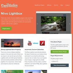 Nivo Lightbox - Dev7studios