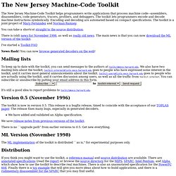 NJ Machine-Code Toolkit