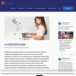 e-izobraževanje - kaj je in kaj so njegove konkurenčne prednosti