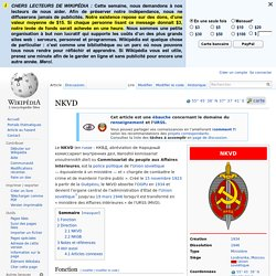 NKVD wikipedia