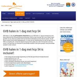 www.golfacademienederland.nl - GVB halen in 1 dag