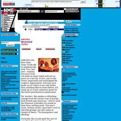 NME.COM - NIRVANA - Nevermind - 21/9/1991