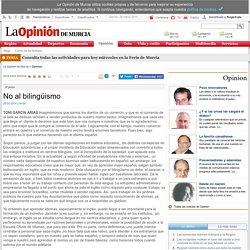 No al bilingüismo
