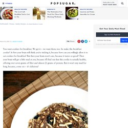 No-Bake Breakfast Cookie