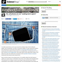"No, cell phones are not ""cooking men's sperm"""